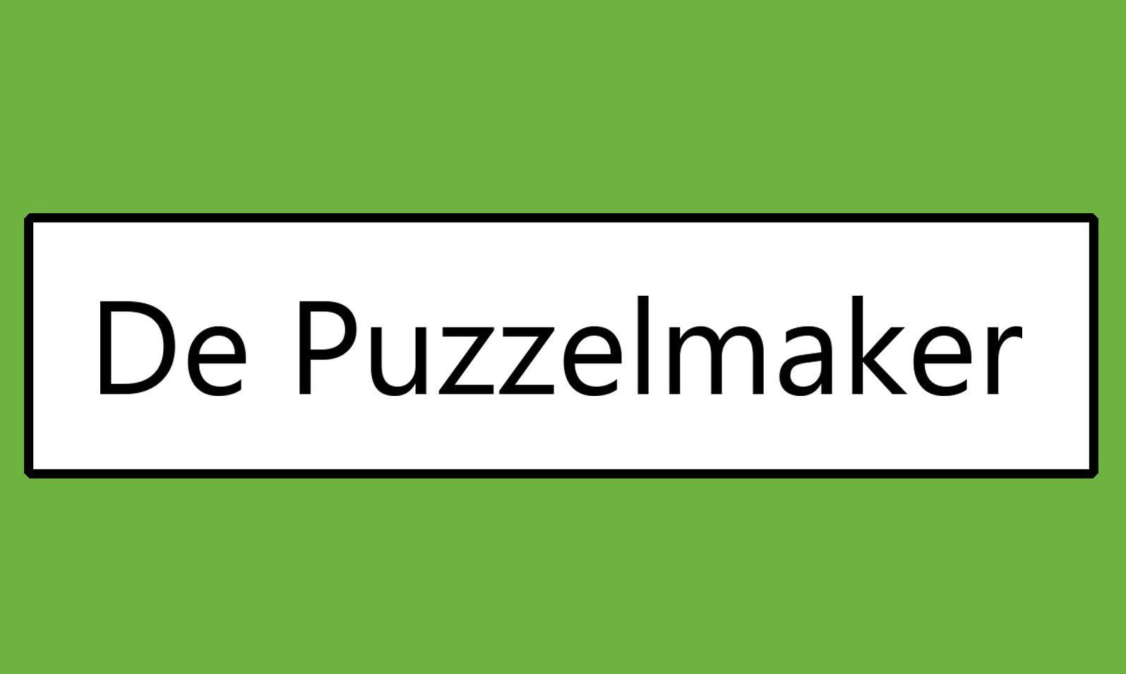 Marije van Asselt De Puzzelmaker Puzzels Denksportpuzzels Kruiswoordpuzzel Denksport