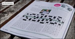 puzzelmaker marije van asselt puzzel puzzels denksport tijdschrift magazine kruiswoordpuzzel kruiswoord kruiswoordraadsel handicap gehandicapt Saamen