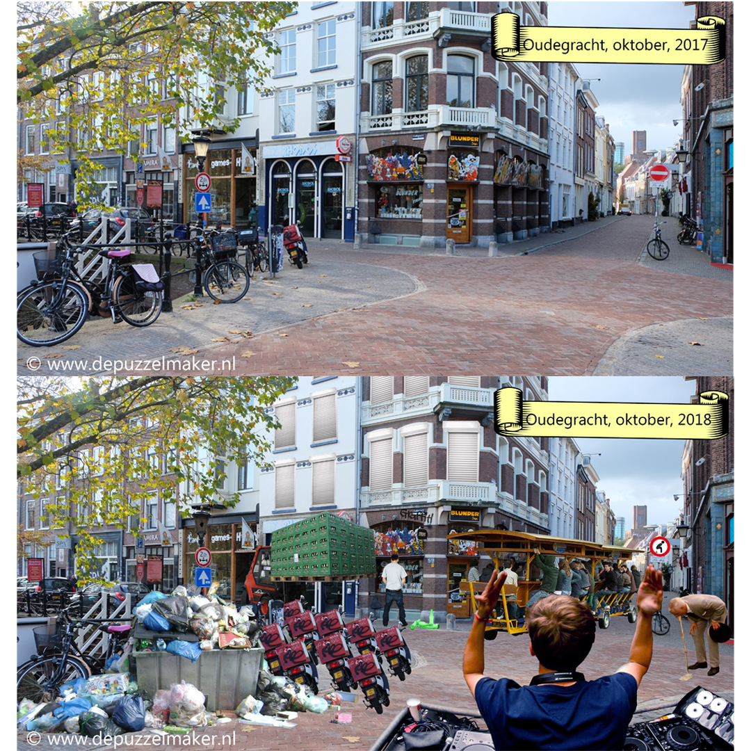 Utrecht Binnenstad 030 Binnenstad030 actiecommite actiegroep oudegracht werfkelders centrum domtoren domkerk puzzel zoek de verschillen zoek-de-verschillen beeldpuzzel puzzelen puzzels photoshop plaatje puzzelplaatje fotopuzzel