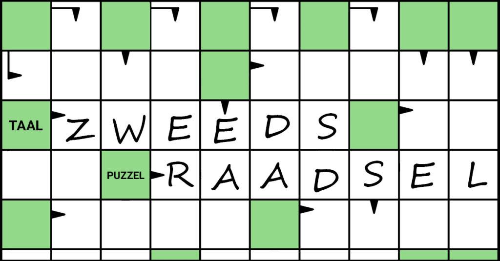 De Puzzelmaker puzzel Puzzels Denksport zweeds raadsel zweedse puzzel fabeltjeskrant